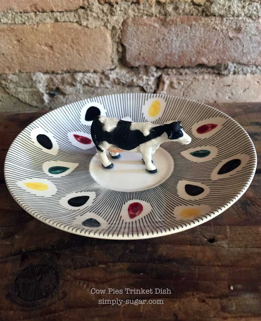 Cow Pies Ring Dish