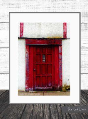 Red Door Art